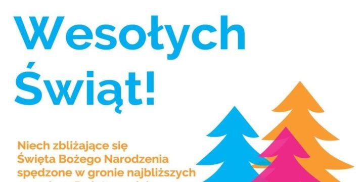 Wesołych Świąt i dobrego 2020 roku!