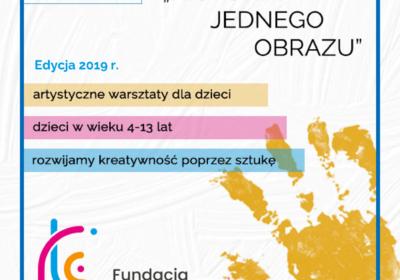 """Cykl warsztatów LABORATORIUM KREATYWNOŚCI – """"HISTORIA JEDNEGO OBRAZU"""" w 2019 r."""