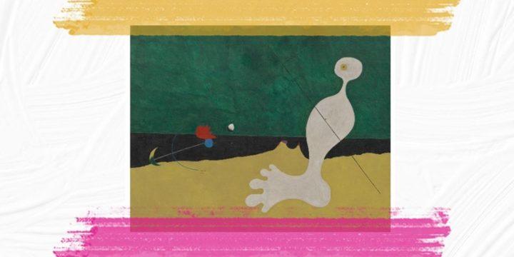 """""""HISTORIA JEDNEGO OBRAZU"""" – """"Postać rzucająca kamieniem w ptaka"""" Joana Miró – zapraszamy 19 października 2019 r."""